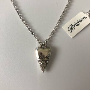 "Brighton ""One Love"" heart necklace"